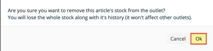 Apicbase Delete Stock 2