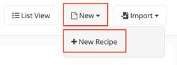 Apicbase New Recipe 2