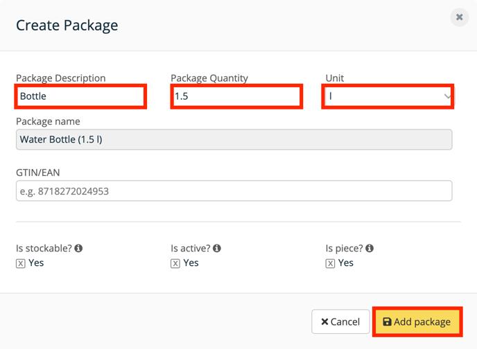 Apicbase add package bottle-1
