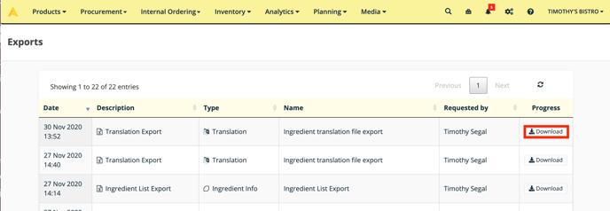 Apicbase input translations 5
