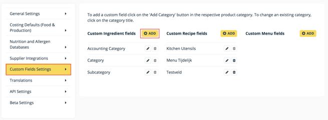 Custom fields 1